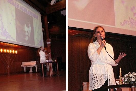 Творческие вечера Веры Зубаревой в Москве